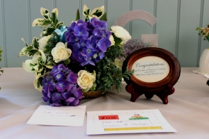 """Royal Baby"" Flower arrangement winner"