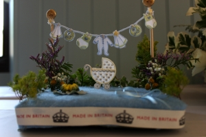 """Royal Baby"" Flower arrangement"